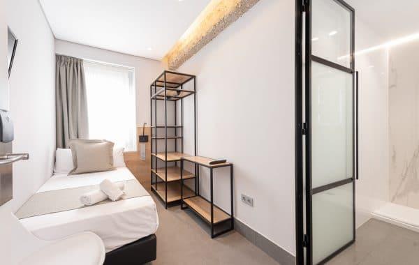 Habitación individual standard – 12m2